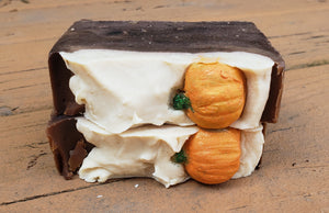 Handmade Soap-Sweet Pumpkin (made with beer)