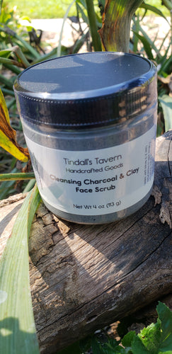 Cleansing Charcoal & Clay Face Scrub