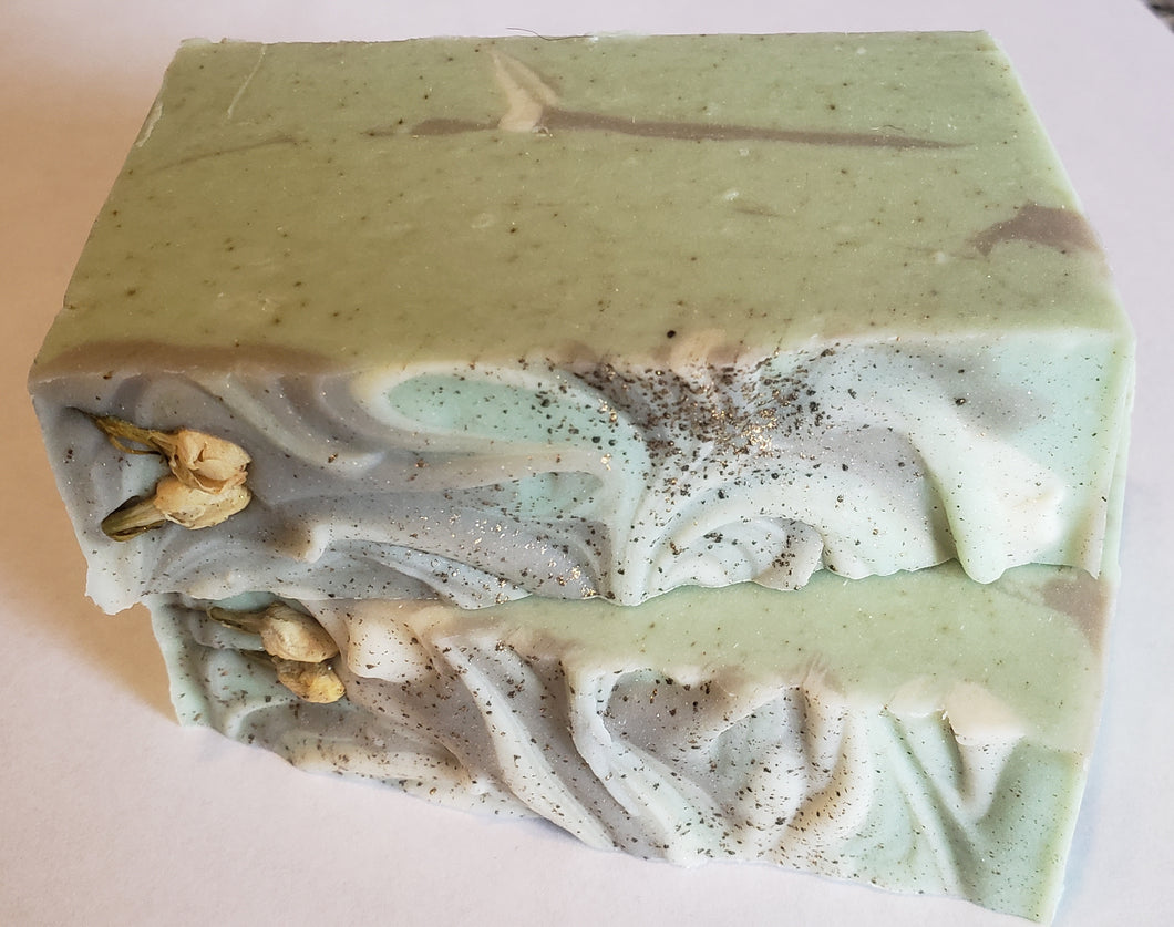 Handmade Soap-Jade (Crystal and Reiki infused)