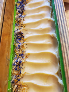 Handmade Soap-Sparkling Lemon with Coconut Milk (custom blend)