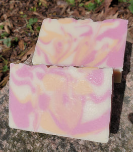 Handmade Soap- Starburst (Crystal and Reiki Infused)