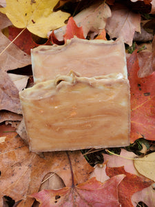 Handmade Soap- Apple & Pumpkin Strudel with Goats Milk