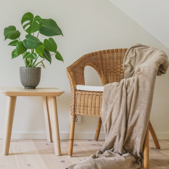 Wood and Rattan