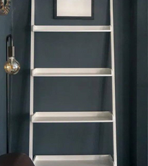 White Ladder Shelves