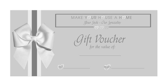 Gift Voucher Make Your House A Home