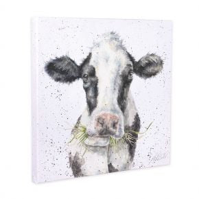 Mr Clover Cow Canvas