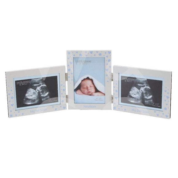 Celebrations Baby Boy Scan Pictures And Newborn Picture Frame
