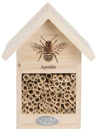 Wooden Bee And Insect House