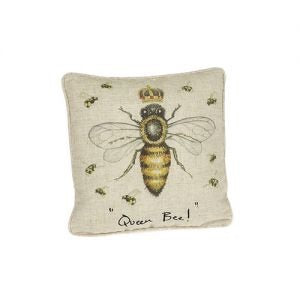 Queen Bee With Crown Cushion