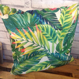Tropical Leaf Cushion