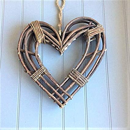 Small Twig Frame Heart Wreath
