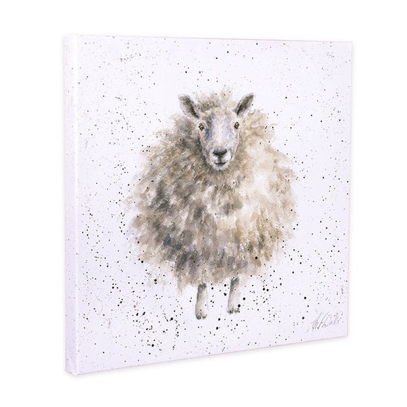 Mr Woolly Sheep Canvas