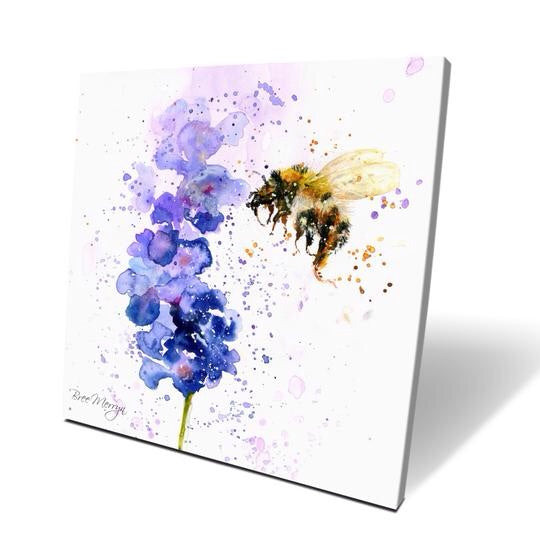 Lavender Mist Box Canvas Picture