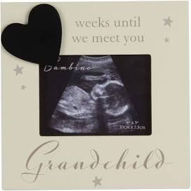 Grandparents Baby Scan Photo Frame