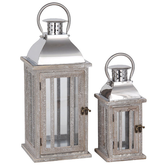 Set of 2 lanterns