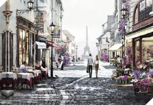 Strolling In Paris Picture