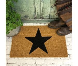 Charcoal Indoor Or Outdoor Coir Doormat