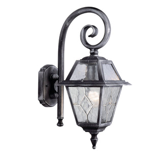 Antique Style 1 Bulb Outdoor Wall Light