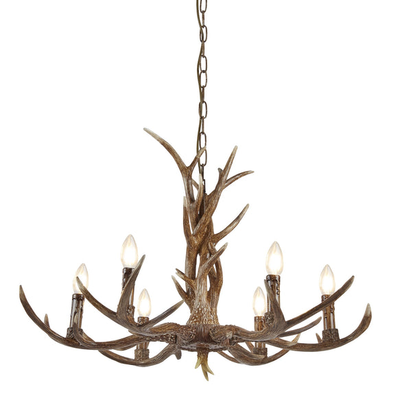 Stag 6 Light Ceiling Fitting