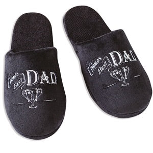 Fathers Day Dad Slippers