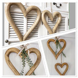 Large Chunky Wooden Heart