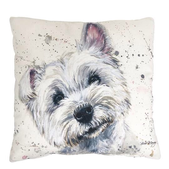 William Westie Cushion