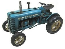 Metal Tractor Ornament