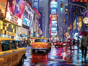 Times Square New York City Canvas
