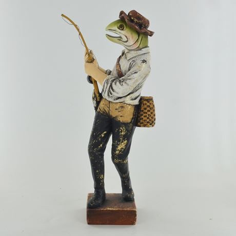 Fishing Rainbow Trout With Vintage Clothing