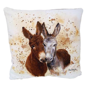 Jack And Vera Donkey Cushion
