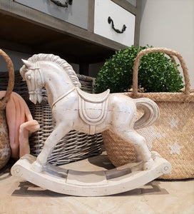 Wooden Effect Rocking Horse