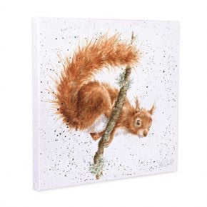 Red Squirrel Canvas