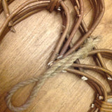 Medium Natural Willow Twig Heart Wreath