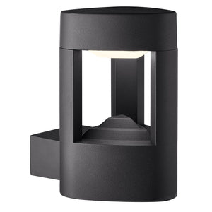 Grey Aluminium LED Outdoor Wall Light