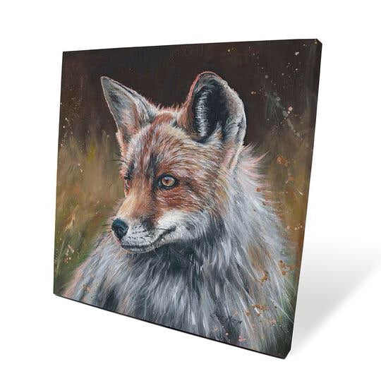 Mr Flint The Fox Canvas Picture