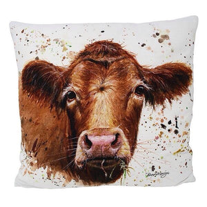 Gertrude Cow Cushion
