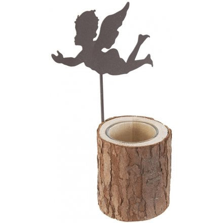 Metal Angel Tea Light Holder