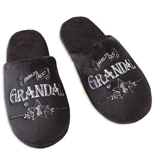 Fathers Day Grandad Slippers