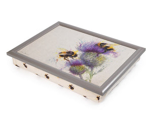 Bees And Thistle Lap Tray