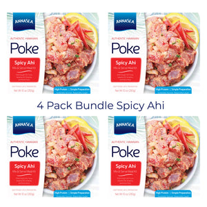 Annasea Spicy Ahi Tuna Poke Kit