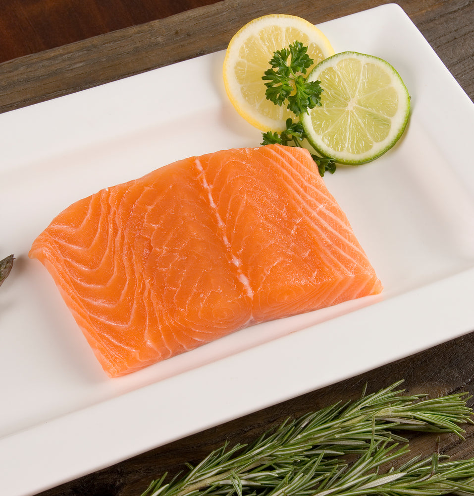 Frozen Atlantic Salmon Portion - 6 oz. Package - Annasea