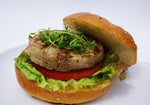Black Garlic Ahi Burger - Annasea