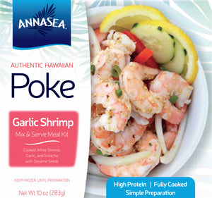 Frozen Garlic Shrimp Poke Kit - Annasea