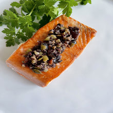 Load image into Gallery viewer, Frozen Wild Coho Salmon Portion - 6 oz. Package - Annasea