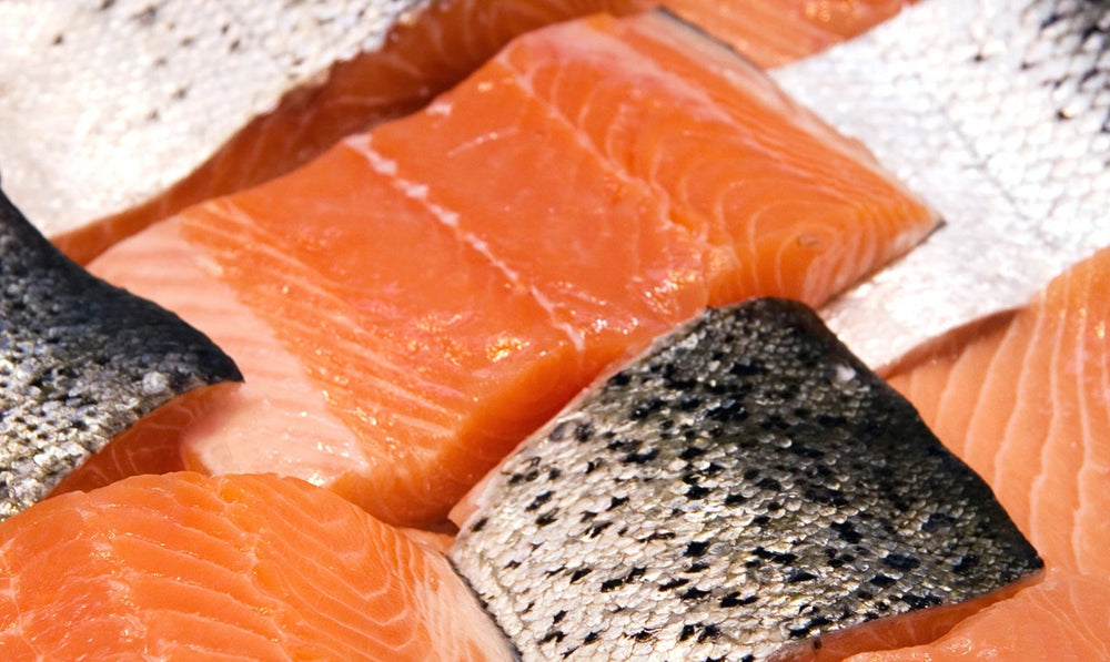 Frozen Wild Coho Salmon Portion - 6 oz. Package - Annasea