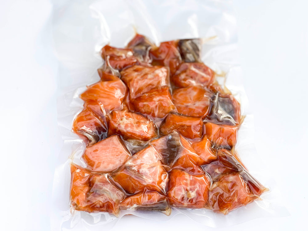 Annasea Candy Nuggets Hot Smoked Salmon - Annasea
