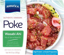 Load image into Gallery viewer, Frozen Wasabi Ahi Poke Kit - Annasea