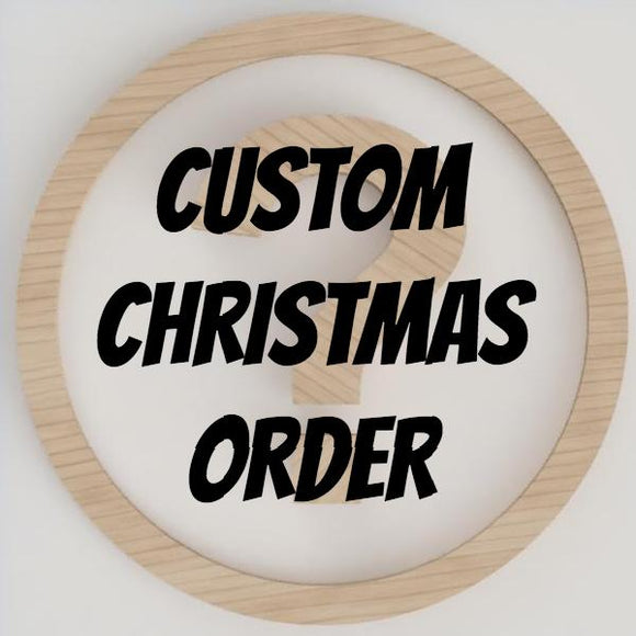 Custom Christmas Ornament