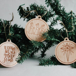 Christmas Ornaments - 2018 Edition