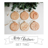 Christmas Ornaments - 2018 Edition (Set of 6)